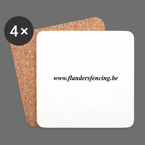 wwww.flandersfencing.be - Onderzetters (4 stuks)