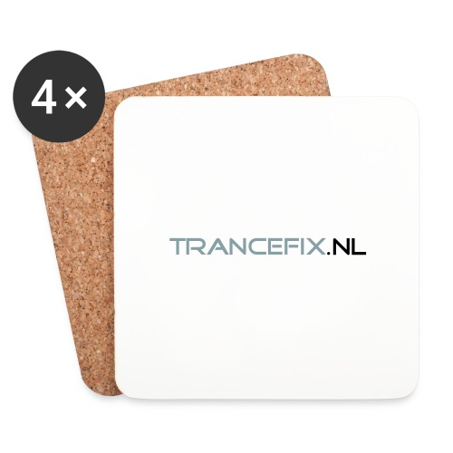trancefix text - Coasters (set of 4)