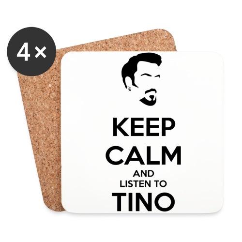 Keep Calm Tino - Posavasos (juego de 4)