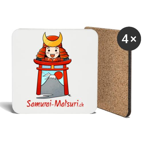 Samurai Matsuri Torii - Untersetzer (4er-Set)