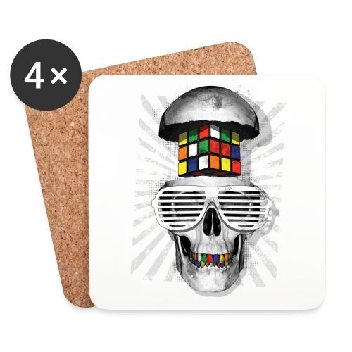 Rubik's Skull Cube - Coasters (set of 4)