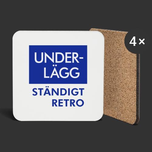 BLÅVITT UNDERLÄGG - Underlägg (4-pack)