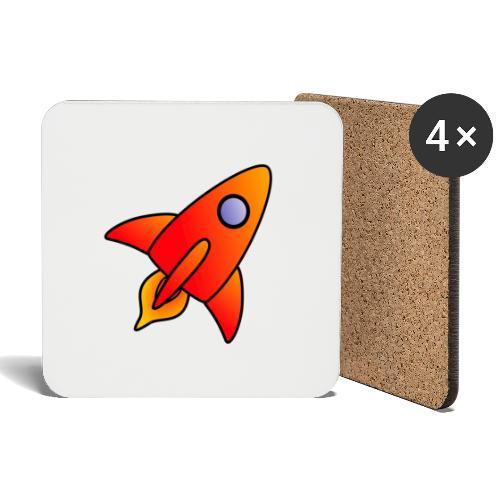 Red Rocket - Coasters (set of 4)