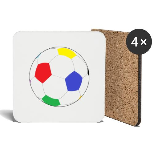 Lesser Spotted Football Logo - Coasters (set of 4)