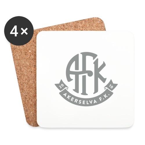 vintage-logo-1farge - Brikker (sett med 4)