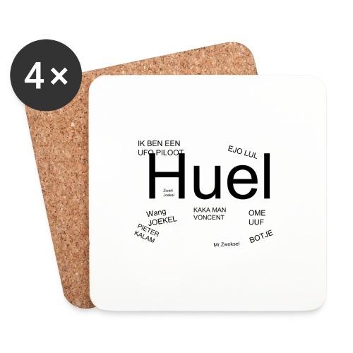 HUEL - Onderzetters (4 stuks)