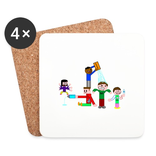 Water Fight - Coasters (set of 4)