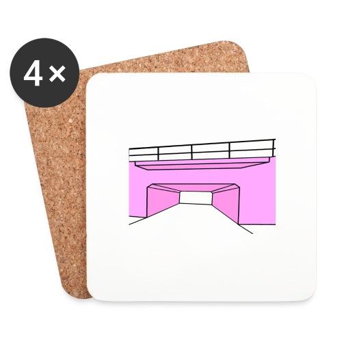 Pink Tunnel - Underlägg (4-pack)