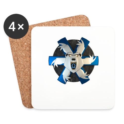 GCGB Symbol 3D 2 png - Untersetzer (4er-Set)