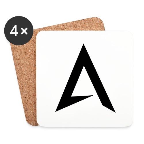 alpharock A logo - Coasters (set of 4)