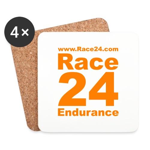 Race24 Logo in Orange - Coasters (set of 4)
