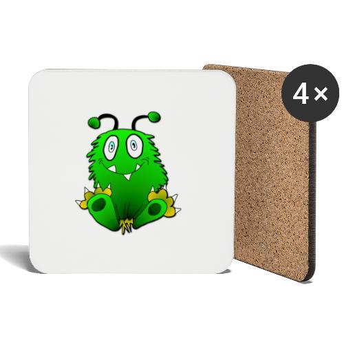 Fubbel Monster - Untersetzer (4er-Set)