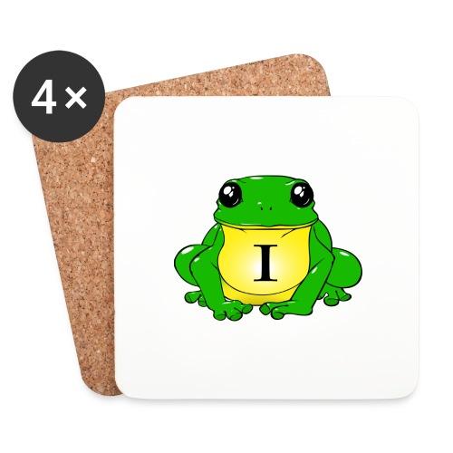 IndirectHat -LOGO- - Sottobicchieri (set da 4 pezzi)