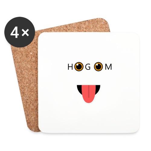 HetGameMisterie Logo - Onderzetters (4 stuks)