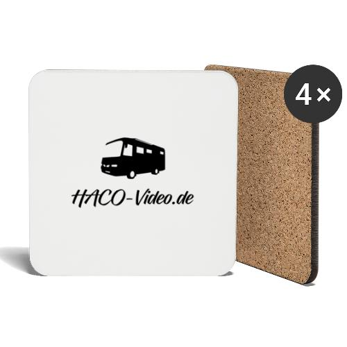 Haco-Video Logo - Untersetzer (4er-Set)