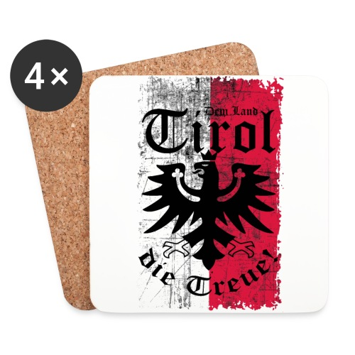 Tirol - Untersetzer (4er-Set)