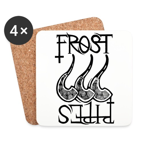 Frost Pipes Logo - Coasters (set of 4)