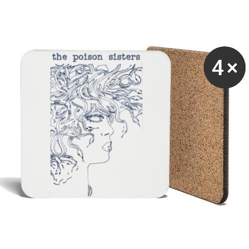 Medusa - Coasters (set of 4)