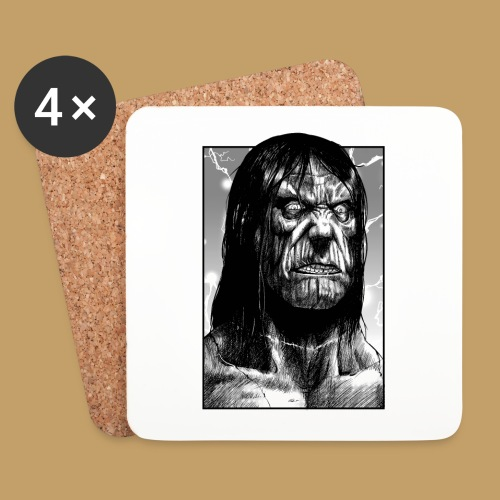 Frankenstein's Monster - Podstawki (4 sztuki w zestawie)