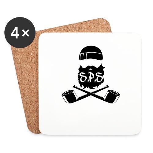 logga svart - Underlägg (4-pack)