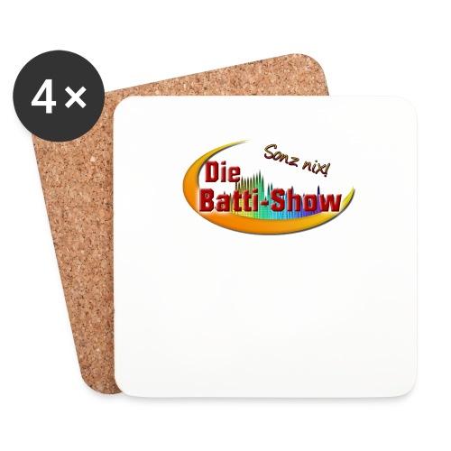 BattiShow_logo_1600 - Untersetzer (4er-Set)
