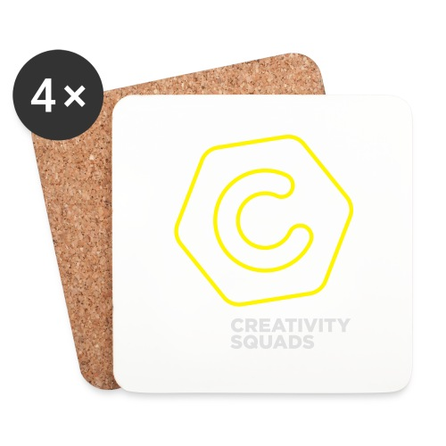 CreativitySquads 002 - Lasinalustat (4 kpl:n setti)