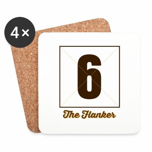 Flanker6_Marplo.png - Sottobicchieri (set da 4 pezzi)