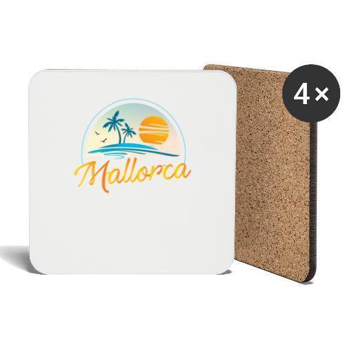 Mallorca - die goldene Insel der Lebensqualität - Untersetzer (4er-Set)