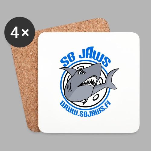 SB JAWS - Lasinalustat (4 kpl:n setti)