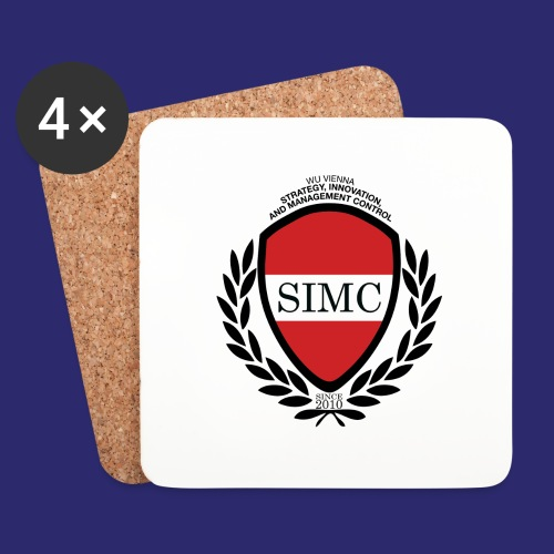 simc logo original - Coasters (set of 4)