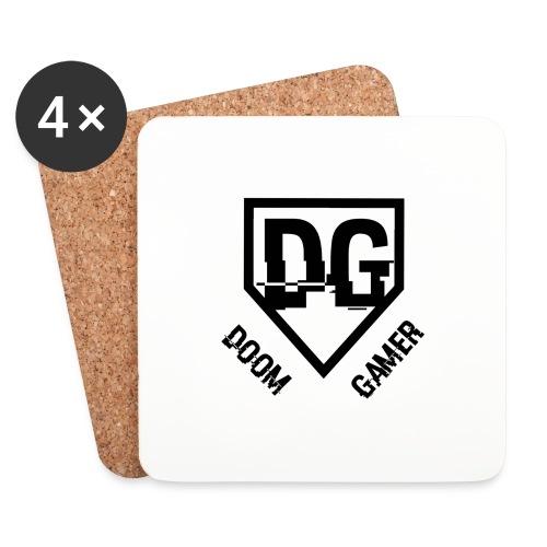 Doomgamer apple 6 / 6s plus hoesje - Onderzetters (4 stuks)