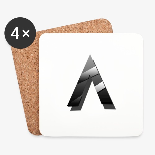 A for Arctic - Dessous de verre (lot de 4)