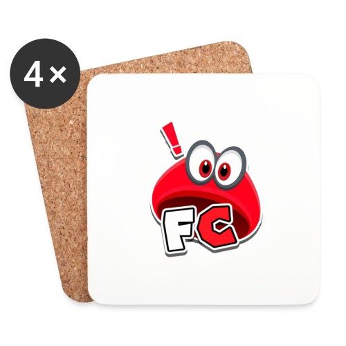 Flying Cappys Logo! - Untersetzer (4er-Set)