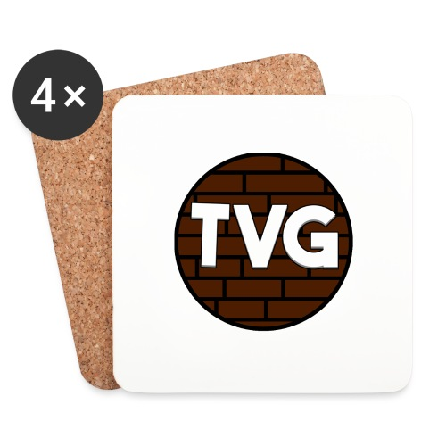 TeVeelGamers - Onderzetters (4 stuks)