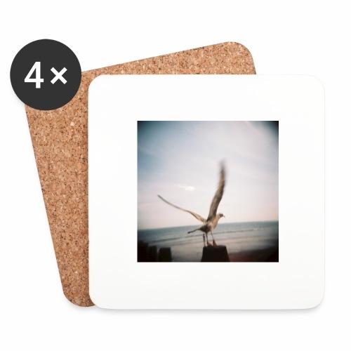 Original Artist design * Seagull - Coasters (set of 4)