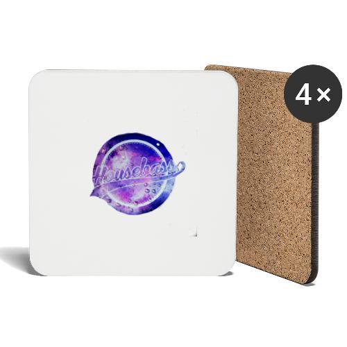 Housebass easy logo - Underlägg (4-pack)