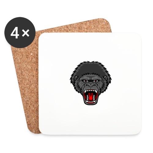 gorilla - Onderzetters (4 stuks)