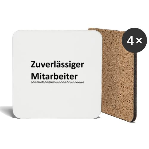 Genderwahn - Untersetzer (4er-Set)
