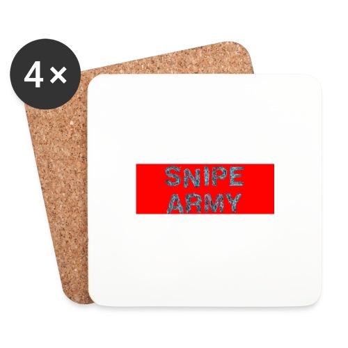 Snipe Army Box Logo - Untersetzer (4er-Set)