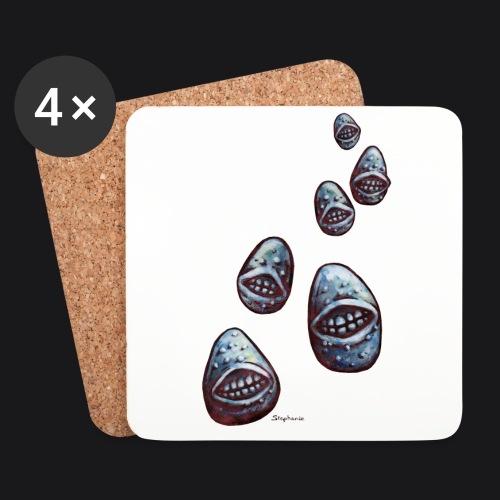 potatoes attack - Dessous de verre (lot de 4)