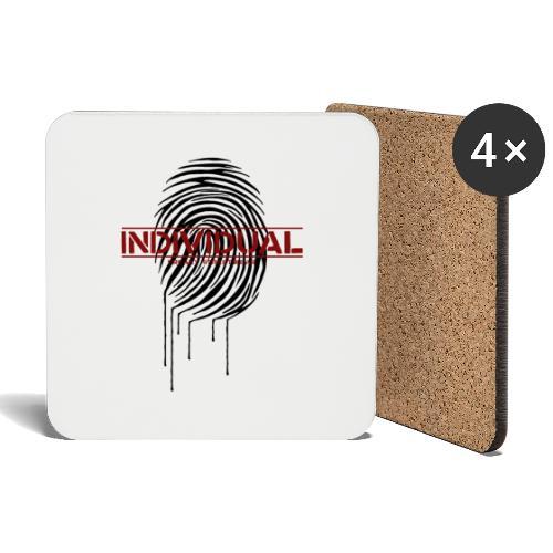 individual 2 - Untersetzer (4er-Set)