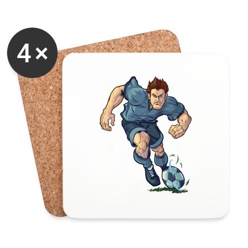 41982995-Vector-de-dibujos-animados-ilustraci-n-de - Posavasos (juego de 4)