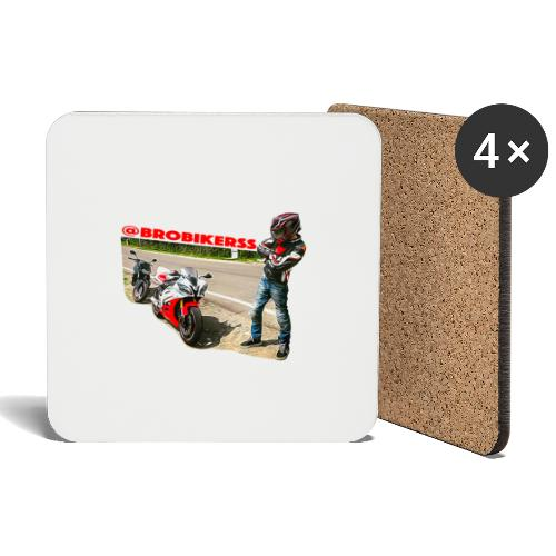 Brobikerss - Sottobicchieri (set da 4 pezzi)