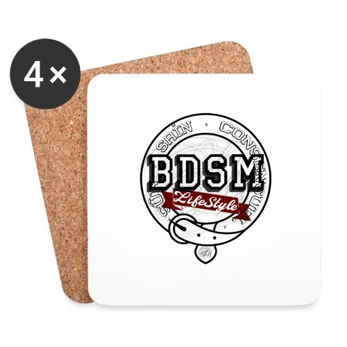 BDSMLifeStyle - Dessous de verre (lot de 4)