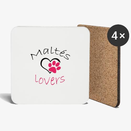 Maltes Lovers - Posavasos (juego de 4)