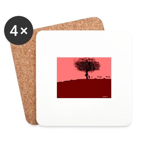 albero_0001-jpg - Sottobicchieri (set da 4 pezzi)