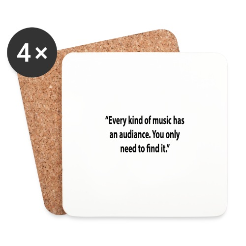 Quote RobRibbelink audiance Phone case - Coasters (set of 4)