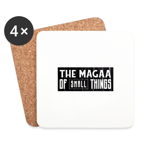 The magaa of small things - Coasters (set of 4)