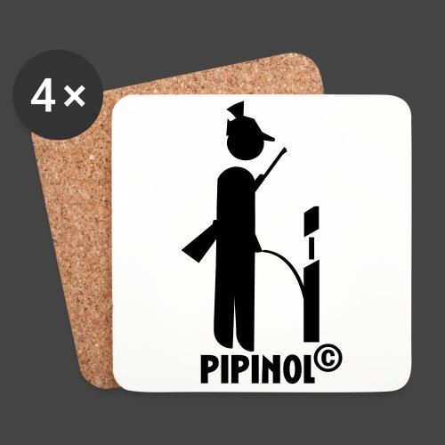 Pipinol - natürliche Wildvergrämung - Untersetzer (4er-Set)