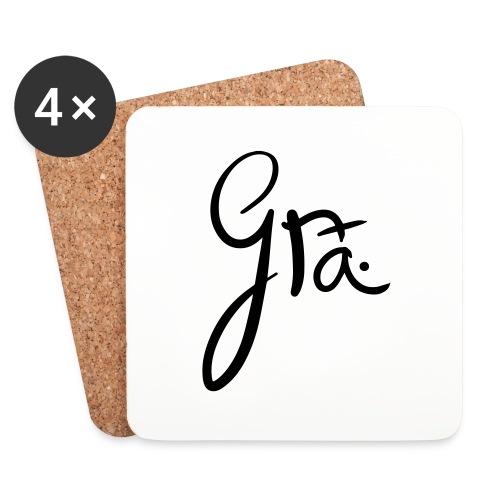 logo-trans-ai - Onderzetters (4 stuks)